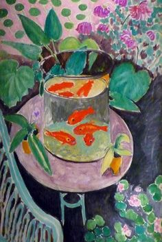 Matisse poissons rouge