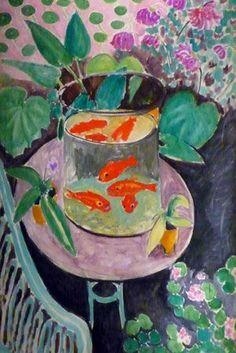 Matisse poissons rouge