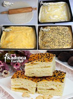 Tereyağlı Çörek Tarifi Donut Recipes, Cake Recipes, Cooking Recipes, Donuts, Tea Party Sandwiches, Turkish Recipes, Snacks, Food Presentation, Butter
