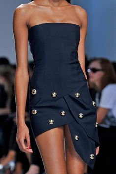 Anthony Vaccarello Details Spring/Summer 2014