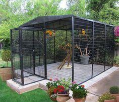 Resultado de imagem para aviary cage materials