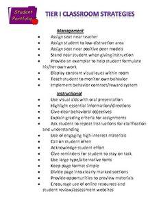 Elementary school classroom tier 1 observation form | School ...
