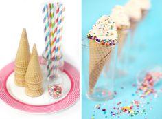 Sprinkle Bakes: Cheesecake Cones