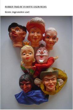 Poppenkastpoppen - vreemd setje popenkastpoppen