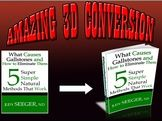 convert your flat 2D cover into 2 KILLER 3D Books
