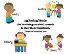 ed and ing Suffix Literacy Center Packet