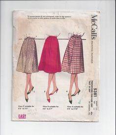 McCall's 5381 Pattern for Misses' Basic ALine by VictorianWardrobe, $10.00