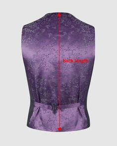 Drafting Instructions for Single-Breasted Waistcoat