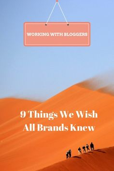 Instagram, Twitter, blogs - what influencers wish brands knew about working with us. #Bloggertofollow #Tips #Influencers