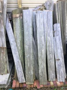 Use Old Fence Boards For Siding As Long As The Surface