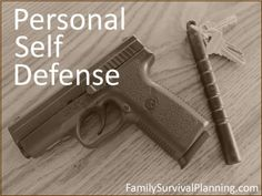 Personal Self Defense - Self defense outside and inside of the home are both controversial subjects that are in the news frequently.  Part of this discussion focuses on armed self-protection which may not be appropriate for everyone. It is a very personal decision with enormous ethical and legal responsibilities.