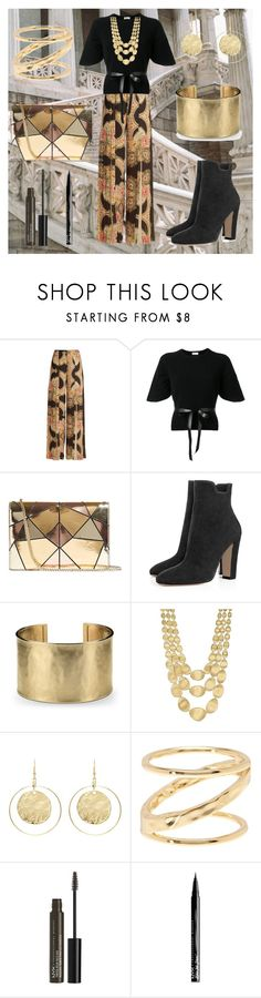 """""""greek outfit"""" by cecilvenekamp ❤ liked on Polyvore featuring Vilshenko, RED Valentino, Karen Millen, Blue Nile, Marco Bicego, Kenneth Jay Lane, Gorjana and NYX"""