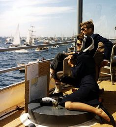 jfk and jackie o. Style out the wazoo!