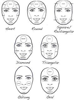 How To Make Your Face Thinner With Makeup | Highlighting and Contouring Tips and Tricks by Makeup Tutorials at http://makeuptutorials.com/5-tutorials-teach-make-face-look-thinner/