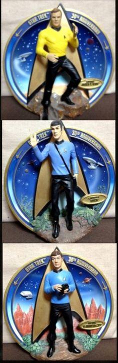 3D Plate - Kirk, Spock, McCoy