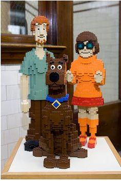 Lego Shaggy, Scooby and Velma #ScoobyDoo