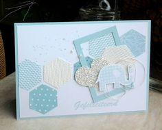 Hexagon, geboorte kaartje