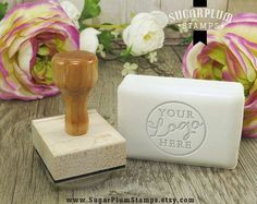 Soap Stamp – Custom Acrylic Logo Stamp – Fondant Stamp – Cookie Stamp – Custom Soap Logo – Wedding Favor Stamp – Monogram Stamp- Soap Stamps Custom soap stamp custom fondant stamps by SugarPlumStamps Fondant Stamping, Monogram Cookies, Soap Display, Soap Favors, Homemade Soap Recipes, Soap Packaging, Packaging Ideas, Soap Molds, Home Made Soap