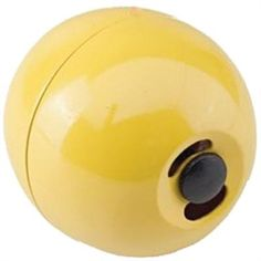 Are your chickens suffering from boredom? Here's a handy little toy! Simply fill with pellets, sunflower seeds or our Harvest Delight Poultry Treat! Enjoy watching your chickens chase the little ball! Some could say its better than TV!