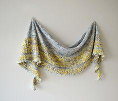 Tarni shawl by ambah obrien malabrigo mechita in pearl sunshowers shawl pattern by inese sang fandeluxe Choice Image