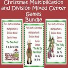 Fern Smith's Thirteen Christmas Multiplication & Division Mixed Center Games Bundled! Common Core Standards ~ Math - Operations & Algebraic...