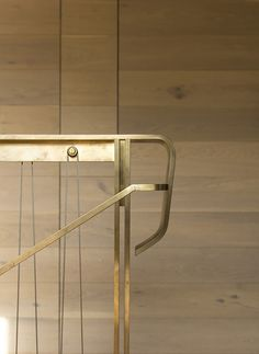 Golden staircase #design #architecture | Pacific House by Casey Brown Architecture | Archdaily.com