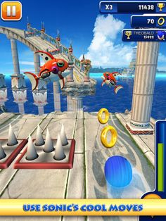 Sonic Dash now available for iPhone/iPad & iPod touch! Next month for Android, Game looks like Temple Run http://www.iappsclub.com/2013/03/sonic-dash-iphone-ipad-android.html#.UTitIxzxiKo