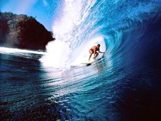In a Teluk Dalam which is a paradise for surfers is the capital city of South Nias district, the city also serves as the sub-districts in South Nias, North Sumatra.