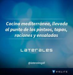 Sigue a Laterales en #VIELITE, ¡El mejor restaurante de comida española en Guadalajara!