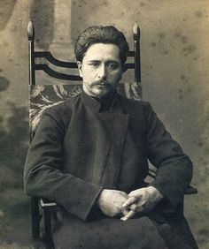 Leonid Andreyev, 1871-1919, Russia.  Key works:  The Life of a Man (1907); He Who Gets Slapped (1915).