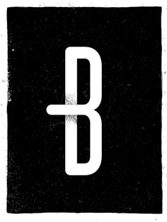 Daily Letter Project: B #typography