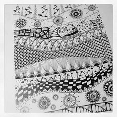 Antiguos Zentangles | Flickr - Photo Sharing!