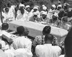 African Americans in the south have always had traditional ways of handling funeral ceremonies and burials of loved ones. African Americans mark the final resting place of love ones in a unique way. In African religion, death is the last transitional stage of life and it requires passage rites,itw