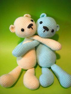 Ravelry: Teddy Bear pattern by Lisa Beauchemin