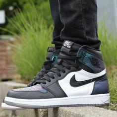 "Air Jordan 1 Retro High All-Star ""Gotta Shine"" All Nike Shoes, Kicks Shoes, Hype Shoes, Men's Shoes, Shoes Sneakers, Zapatillas Nike Basketball, Sneakers Fashion, Fashion Shoes, Skechers Mens Shoes"