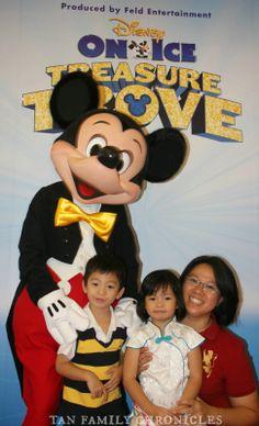 Tan Family Chronicles: [Media Invite] Disney on Ice - Treasure Trove