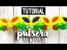 Pulsera mariposas ♥︎ macrame tutorial | como hacer | diy ● Friendship Bracelet - YouTube