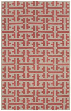 The Greek Salmon Rug - Genevieve Gorder for Capel Rugs