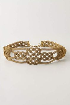 Quattrocento Belt - anthropologie.com, Twining sinews of brass mesh wrap early-Renaissance beauty around your waist.