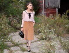 Fashionlingual: @shopakira Corduroy Midi