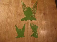Tinkerbelle shadow die cuts-set of 3