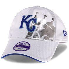 san francisco 9ca91 13afe Kansas City Royals Youth Diamond Era Tech Shiner 9TWENTY Adjustable Cap by New  Era - MLB
