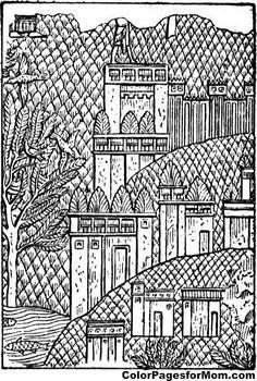 The Backyard See More Palace Coloring Page