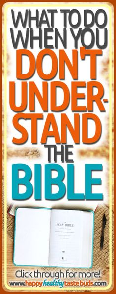 If you can't understand the Bible—or if you don't feel smart enough to read it for yourself—then you've got to read this! It will encourage you, give you confidence based on God's promises, & show you one simple thing to do when you don't understand the Bible. Click through now! Family Bible Study, Bible Study Plans, Bible Study Guide, Free Bible Study, Bible Art, Study Helper, Prayers For Hope, Scripture Memorization, Bible Resources