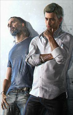 Ethan and Clancy Resident Evil 7 Biohazard, Resident Evil Game, Platinum Games, Good Horror Games, Borderlands Art, Evil Art, Bioshock, Artworks, Evil Games