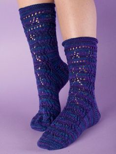 great sock pattern to knit,  free download from Knit Picks