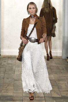 Ralph Lauren Spring 2011 Ready-to-Wear Fashion Show - Valentina Zelyaeva