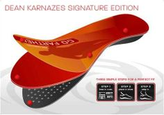 SOLE Dean Karnazes Signature Series Insoles by SOLE. $50.00. The perforated EVA base enhances breathability and reduces weight, which increases endurance. X-Static silver fibers in the top sheet help control odor. Industry-leading cushioning is supplied by 1.6mm of our proprietary cushioning material (SOFTEC). Dean Karnazes relies on SOLE Custom Footbeds to provide custom support and comfort while he runs unimaginable distances. Together, Dean and SOLE have designed a signature...