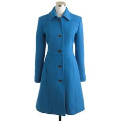 Tall double-cloth lady day coat with Thinsulate® - jackets & outerwear - Women's tall - J.Crew
