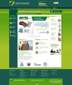 Portal web FEDECRÉDITO